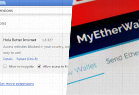 Hola VPN's Chrome extension hacked to target MyEtherWallet users