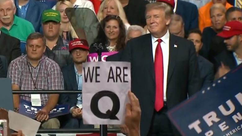 Anonymous hackers vow to expose Q-Anon