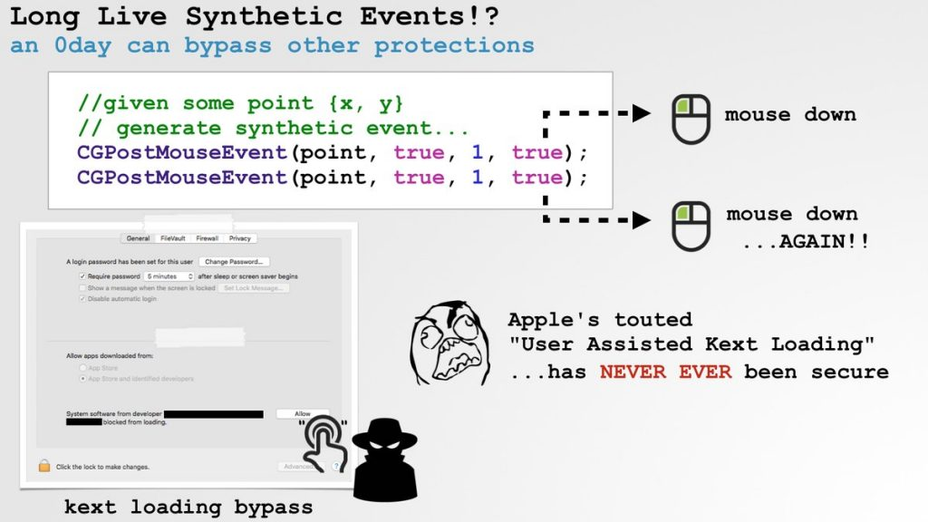 Ex-NSA hacker proves how easily macOS user warnings can be bypassed by malware  - ex nsa hacker proves how easily macos user warnings can be bypassed by malware 1 1024x576 - Ex-NSA hacker proves how easily macOS user warnings can be bypassed by malware