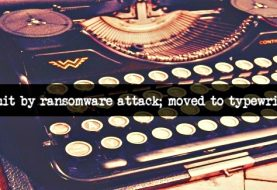 Massive ransomware attack forces authorities to use typewriters