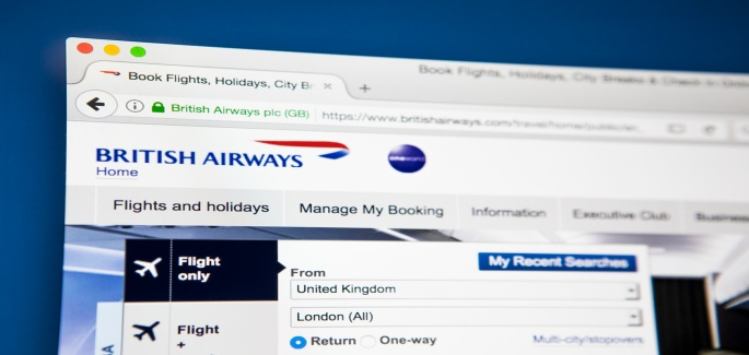 British Airways hacked- Private & financial data of 380,000
