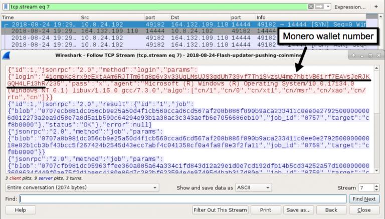 Fake Adobe updates installing cryptomining malware while updating Flash  - fake flash update cryptomining malware 4 - Fake Adobe updates installing cryptomining malware while updating Flash