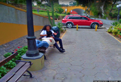 Google Maps: Hubby divorces wife after finding her on Street View with another man