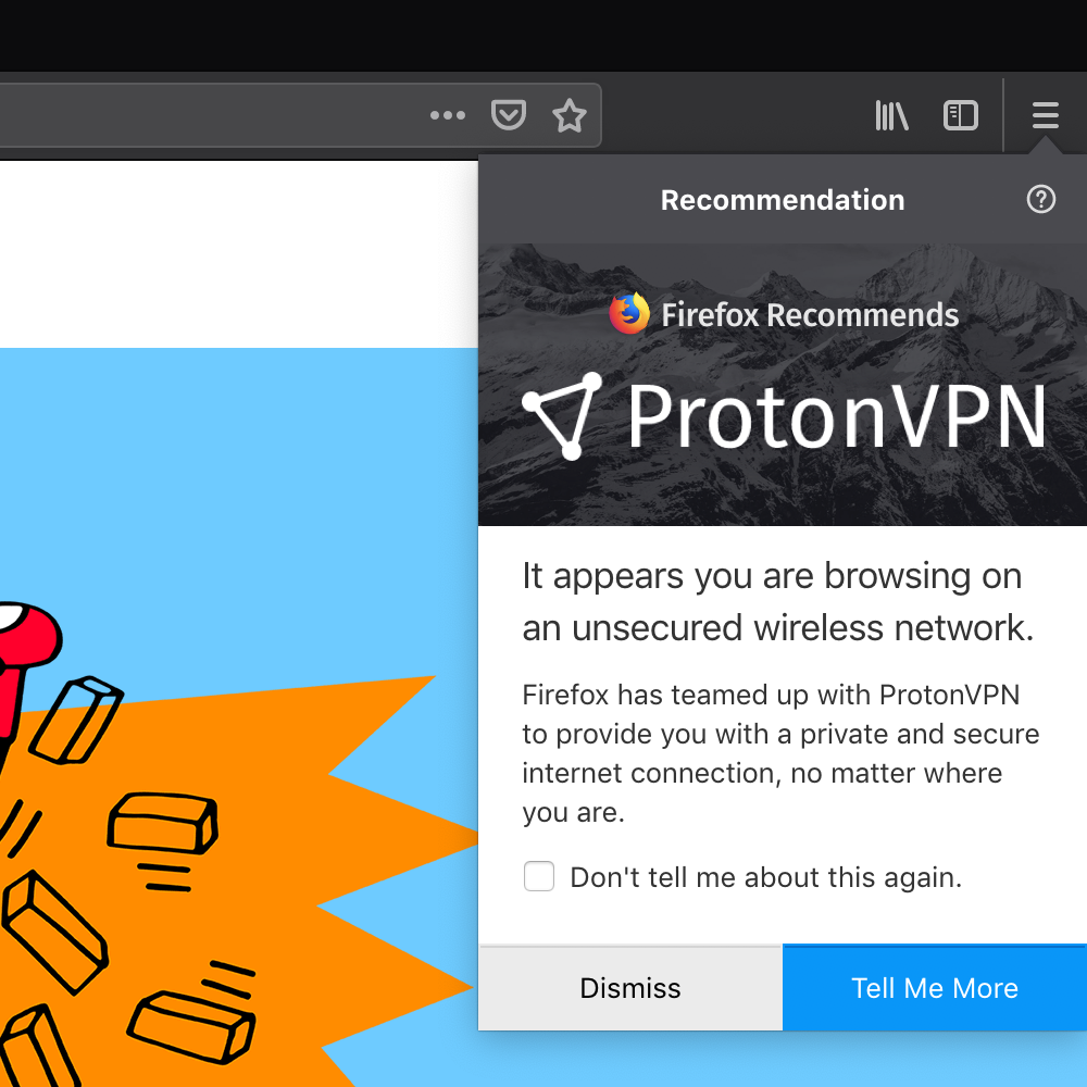 ProtonVPN Subscriptions Now Available on Firefox for $10  - mozilla firefox browser protonvpn 1 - ProtonVPN Subscriptions Now Available on Firefox for $10