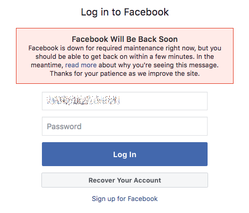Is your Facebook and Instagram down? Well, you are not alone