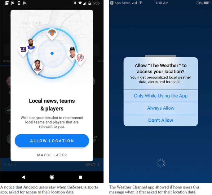 Apps on your phone are selling and sharing your location data 24/7