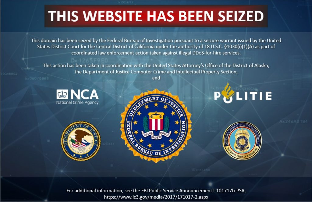 Authorities seize 15 popular DDoS-for-hire websites  - authorities seize 15 popular ddos for hire websites 1 1024x663 - Authorities seize 15 popular DDoS-for-hire websites