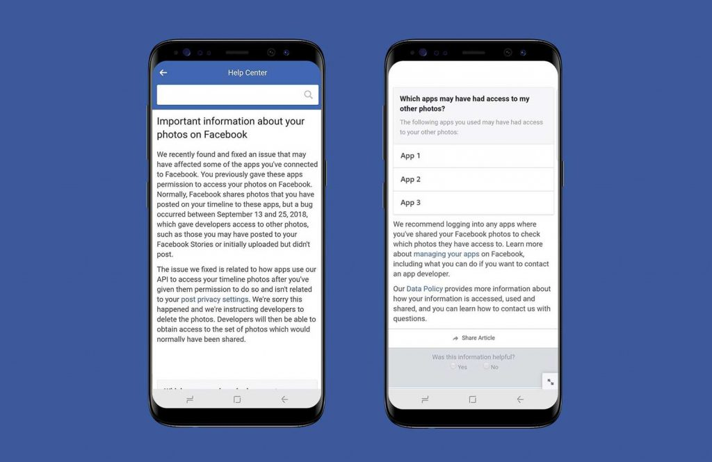 Facebook bug exposed private photos of 6.8M users to third-party developers  - facebook bug exposed private photos 2 1024x665 - Facebook bug exposed private photos of 6.8M users to third-party developers