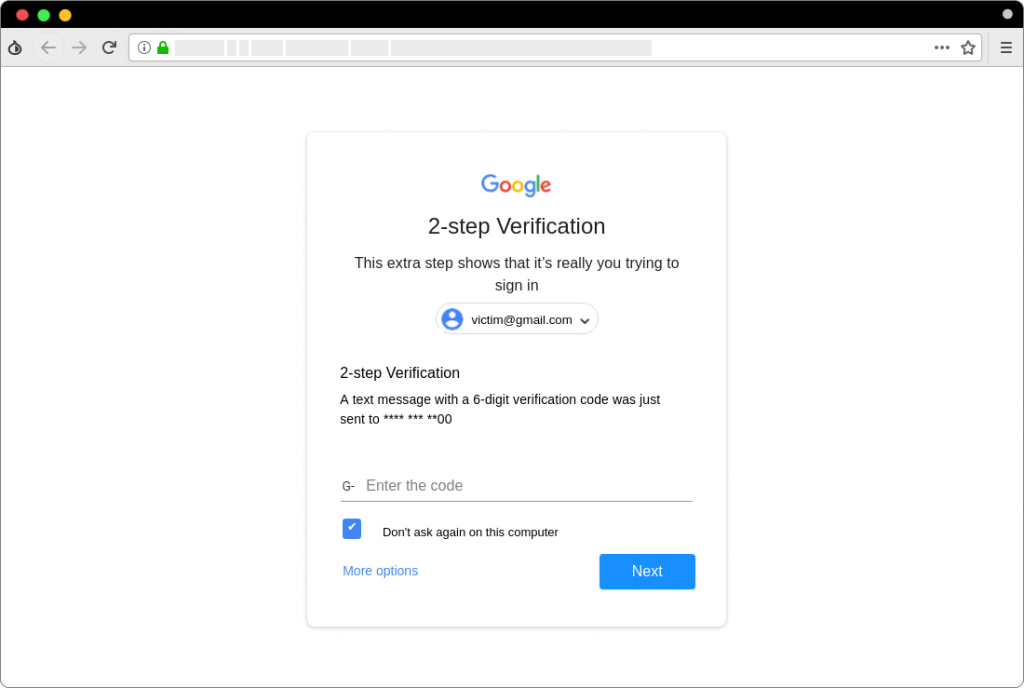 Hackers bypassed Gmail & Yahoo's 2FA to target US officials