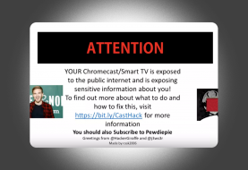 Hackers play PewDiePie ad on thousands of hacked Chromecasts & Smart TVs