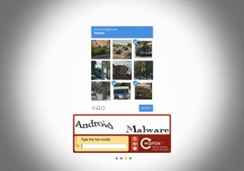 Android banking malware distributed with fake Google reCAPTCHA