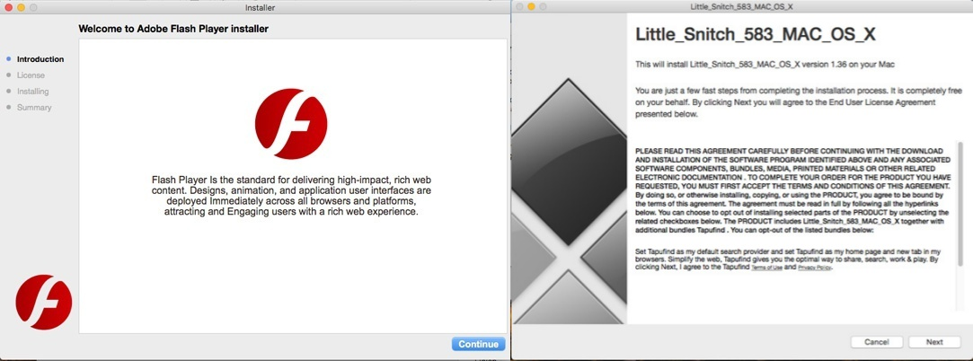An info stealer  exe malware is targeting Mac users around