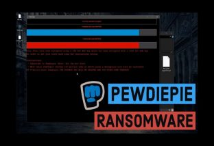 PewDiePie ransomware forcing users to subscribe him on YouTube