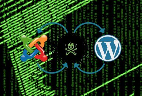 Hackers using hacked WordPress & Joomla sites to drop malware
