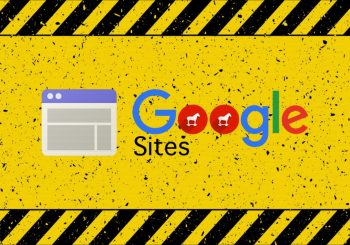 Hackers using Google Sites to spread banking malware