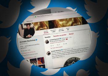 Amitabh Bachchan's Twitter hacked with photo of Pakistani PM Imran Khan