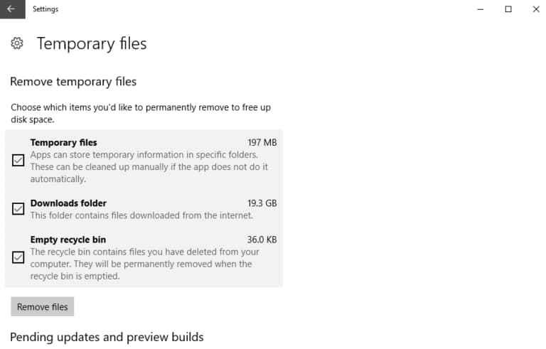 How to Remove Temporary Files In Windows 10?