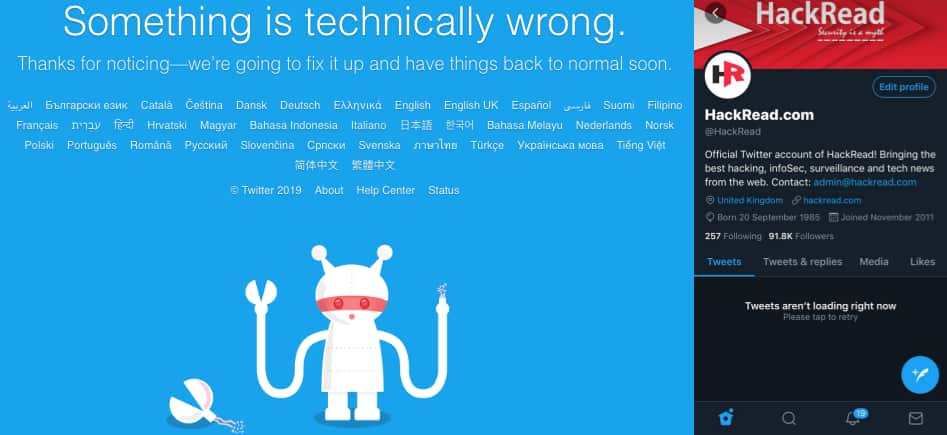 You are not alone; Twitter is down for everyone