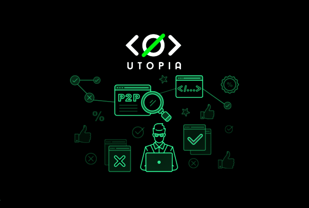 Meet Utopia; a privacy focused decentralized P2P ecosystem