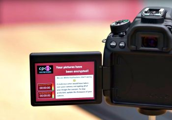 White hat hackers infect Canon DSLR camera with ransomware