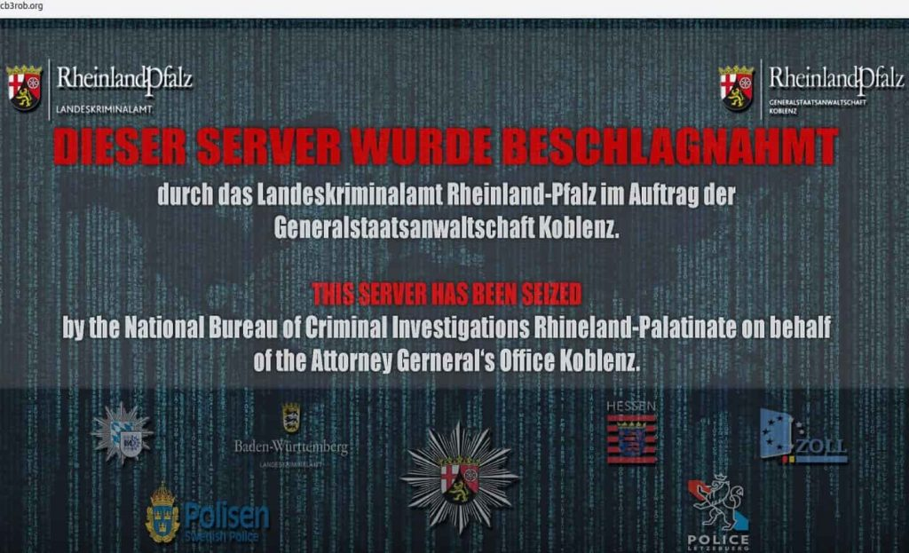 Police bust data center at former nato bunker used in dark web child explicit content