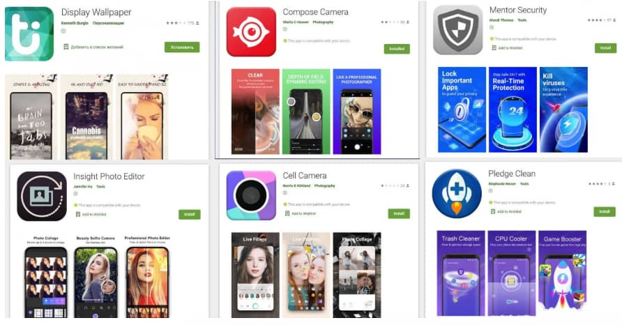 Gaming & security apps on Play Store caught spreading malware