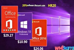 Windows licenses for under 10 HR20