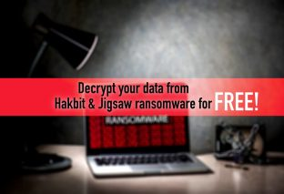 How to decrypt your data from Hakbit & Jigsaw ransomware for free