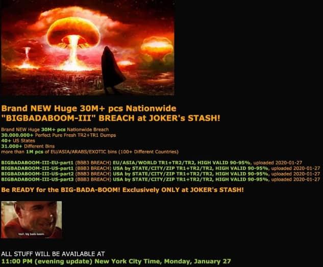 Hacked: Stolen Wawa card data being sold on dark web
