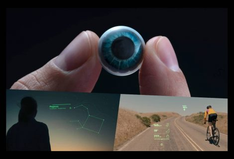 These smart contact lenses equip your eyes with augmented reality