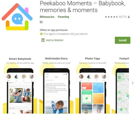 Peekaboo Moments app exposes baby photos, videos & location data