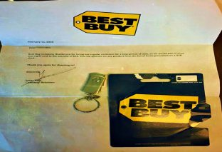 Hackers sending malware infected USBs with Best Buy Gift Cards