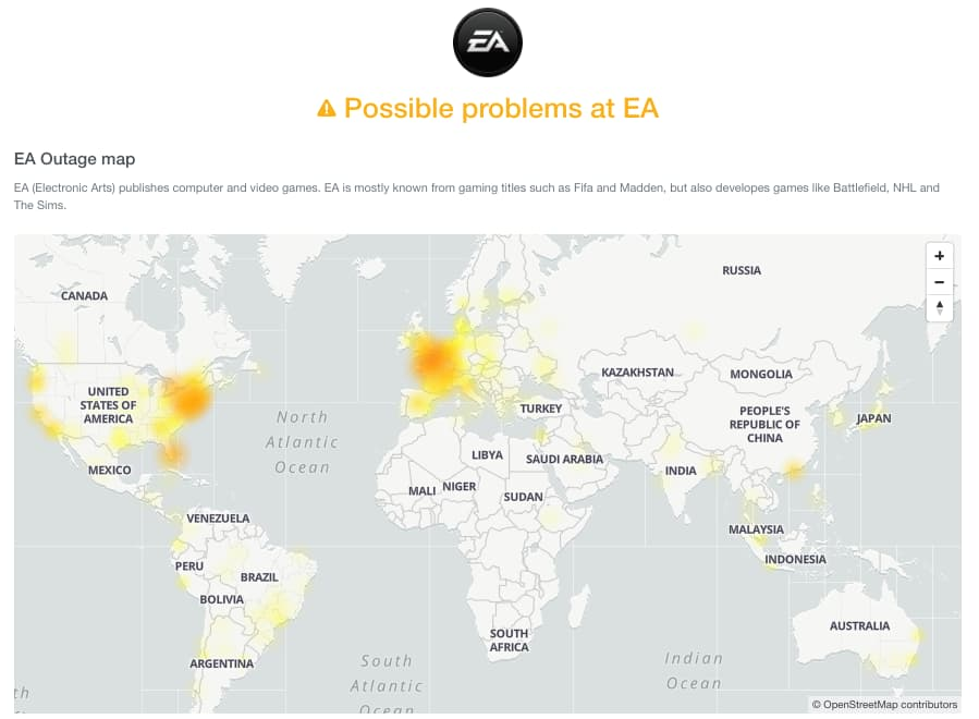 Blizzard hit by massive DDoS attack; EA Sports facing lagging issue