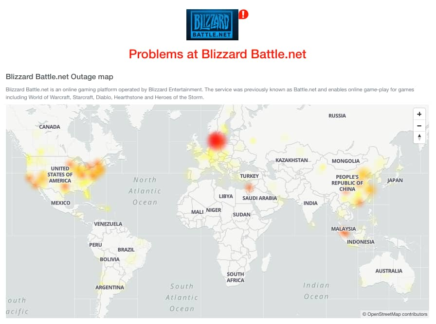 Blizzard suffers massive DDoS attack; EA Sports also suffering outage