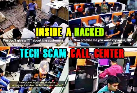 Man hacks Indian tech support scam call center; leaks CCTV footage