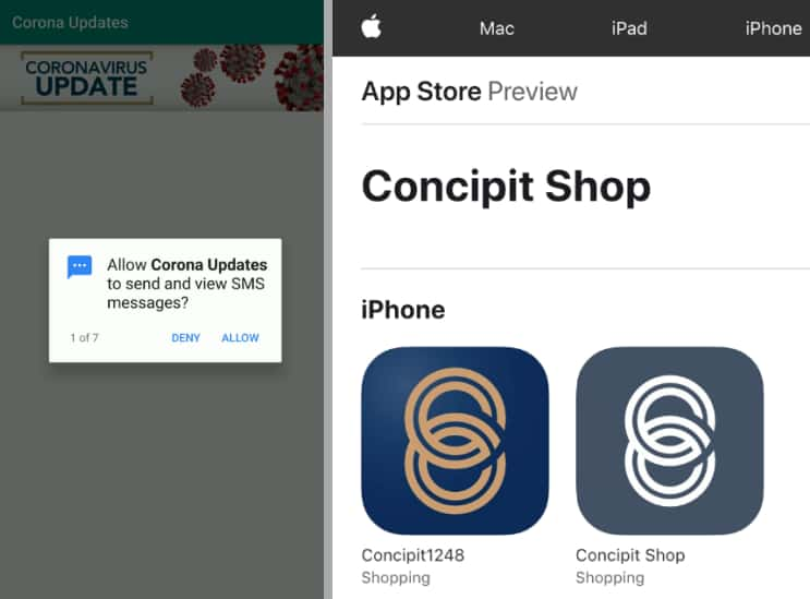Fake Coronavirus apps hit Android & iOS users with spyware, adware