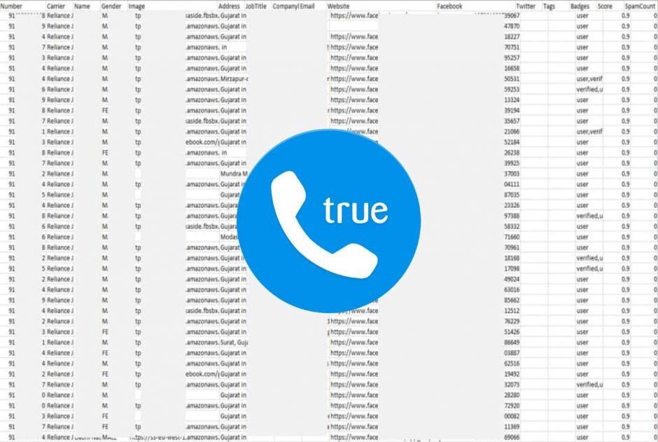 Alleged data of 47.5 million Truecaller Indian users sold online