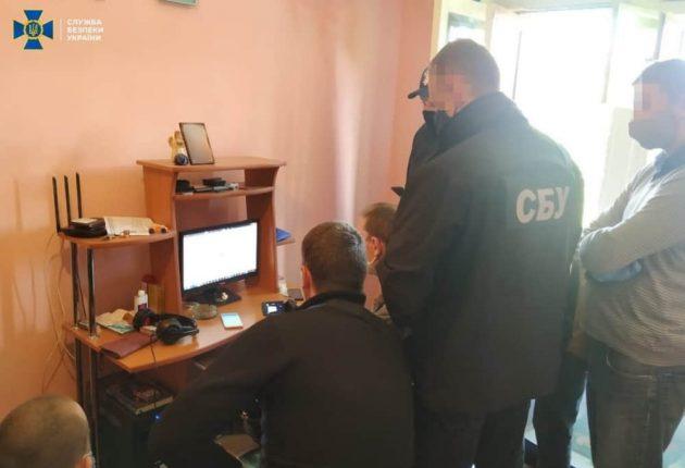 Police performing forensic analysis (Image: SSU)