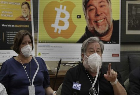 Apple co-founder Steve Wozniak sues YouTube over Bitcoin scams on his name