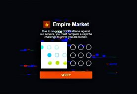 Dark Web's Empire market down for days after massive DDoS attack