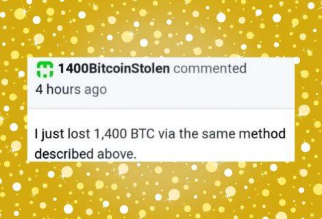 Fake wallet update steals 1400 Bitcoin ($16 million) from Electrum user