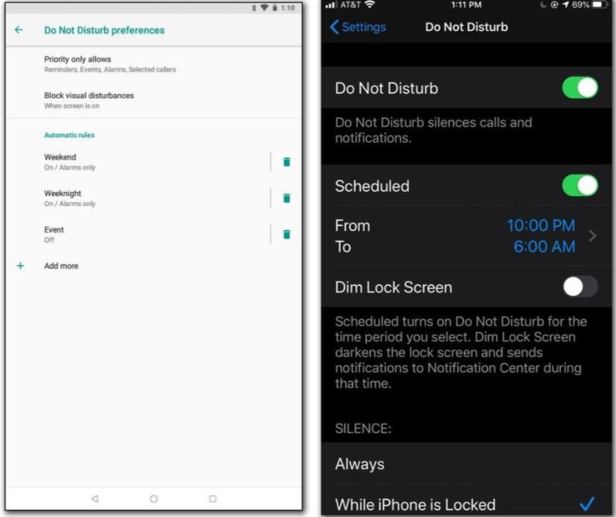 How to Control Push Notifications of your Devices