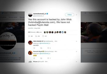 Indian PM Modi's Twitter handle hacked to ask for Bitcoin donations