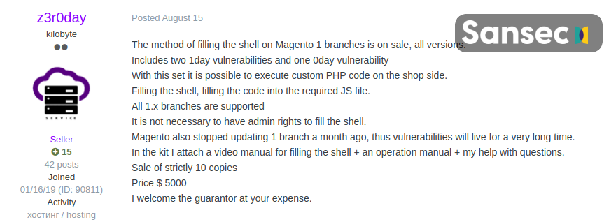 Magecart hackers launched largest ever web skimming attack against Magento e-stores