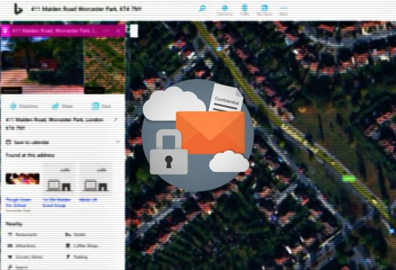 Microsoft Bing server exposed user search queries and location data