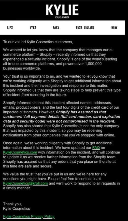 """Shopify Sufferd Data Breach Because of """"Rogue"""" Employees"""