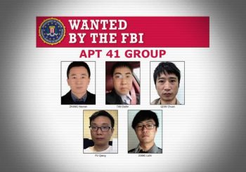 US charges APT 41 group members for hacking over 100 companies