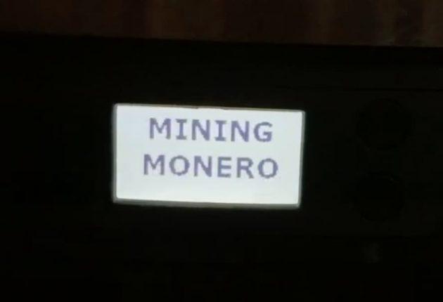 Coffee machine hacked to mine Monero coin (Image: Avast)
