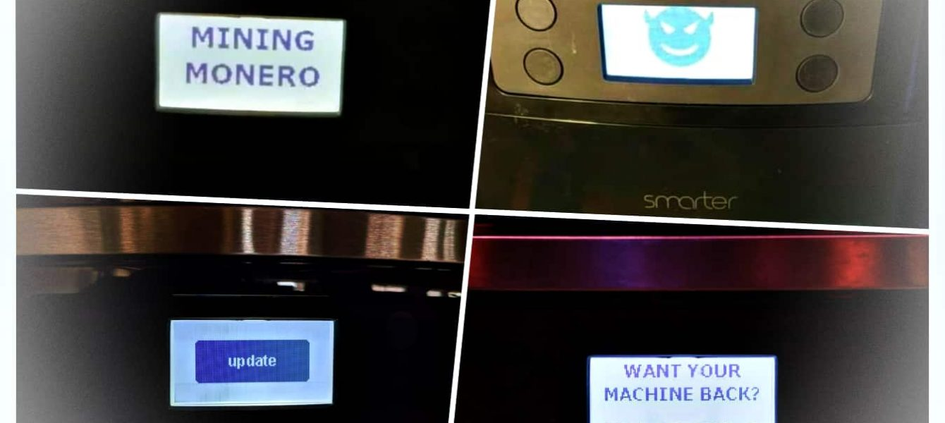 Researcher Proves Smart Coffee Machines Can be Hacked for Ransom