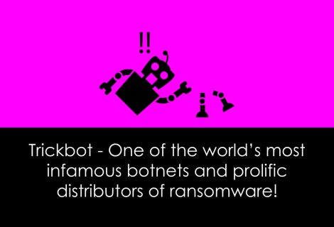 Cyber Security companies dismantle Trickbot ransomware botnet
